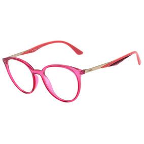 Armação Óculos De Grau Da Vogue Original Rosa Chique A451 - Óculos ... f3365b63f0