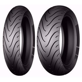 Par Pneu De Moto 140/70 17 E 110/70 17 Michelin Pilot Street