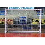 Rede Futebol Nylon Fio 2 Para Futebol Salão (futsal) Par b2e3e5762ea4a
