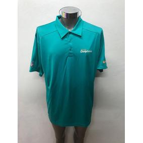 Playera Polo Original Nike Nfl Delfines Dolphins Miami 2 240bc983856