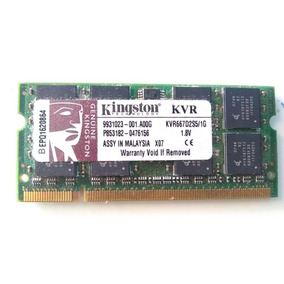 Memoria Ram Kingston Kvr 667d2s5/1g (1gb)