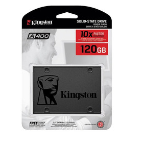 Disco Solido Ssd Kingston 120gb A400 Notebook / Pc