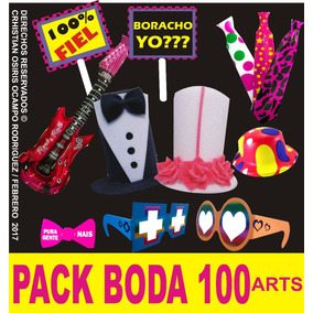 Paquete Batucada Sombreros De Espuma Boda Lente Fiesta Kit