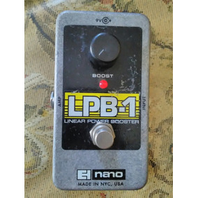 Pedal Guitarra Booster Linear Power Lpb-1 Nano