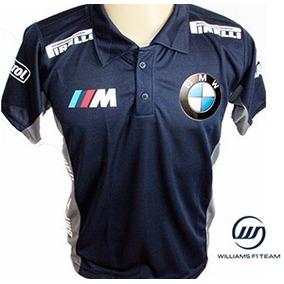 5f1e25c85b2a0 Camisa Camiseta Polo Bmw Formula 1 Corrida