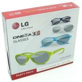 Lg Lentes 3d Ag F315 Pack 4 Lentes 3d Gafas Cinema