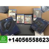 Sony Playstation 4 Pro 2tb Nuevo Con 10 Juegos Gratis Nuevo