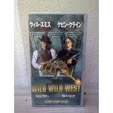 Vhs Japonês Wild Wild West - Original