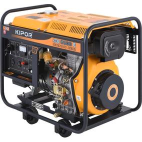 Generador Monofasico Diesel Kde-6500e- Kipor