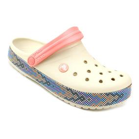 9aa35a5ea Sandália Crocs Crocband Clog Rosa 8m10w Tamanho 39 - Sapatos no ...