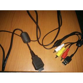 Cable De Audio - Video Y Usb Camara Cyber-shot