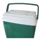 Caixa Térmica 34 Litros C/ Alça, Trava E Porta Copos Cooler