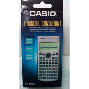 Calculadora Finaciera Casio Fc-100v