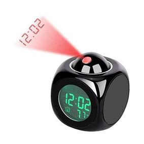 Proyector De Led Reloj De Alarma Multi-función De Visualiza