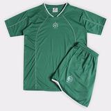 5ba489542e Conjunto Camisa + Calção Chapecoense Juvenil - Futebol Mania