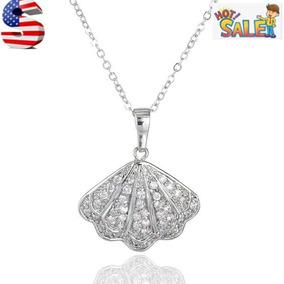 Silver - Circón Cúbico Plateado Platino Oro Sheel Venti-7866