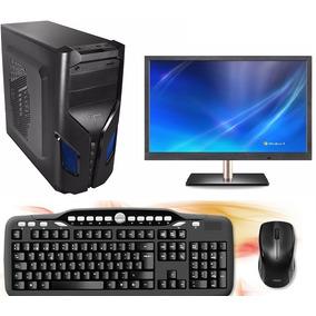 Computadora Completa Monitor 20 Pulgadas Y Windows 7 64bits