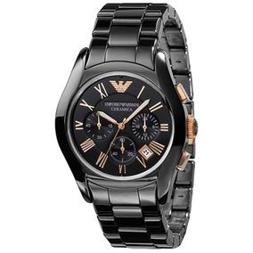 a51b8cd77307 Emporio Armani Ceramica Negro Hombre - Reloj de Pulsera en Mercado ...