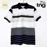 Camisa Polo Masculina Tng Fio Tinto Listras Mix 404416639fbef