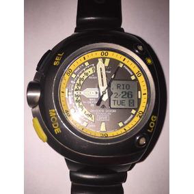 599a45f7e8b Citizen Meia Lua Fundo Amarelo - Relógio Masculino no Mercado Livre ...
