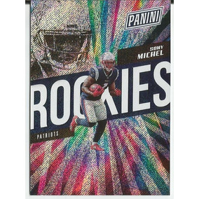 2018 Panini The National Rookies Sony Michel /399 Patriots
