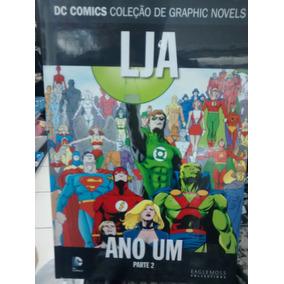 Coleção Dc Graphic Novels - Ed 10 Lja Ano Um Parte 2