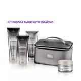 Kit Eudora Siàge Nutri Diamond Com Frasqueira + 4 Produtos f647058f6fbf4