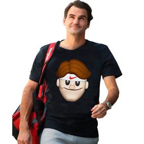 Playera Roger Federer Emoji