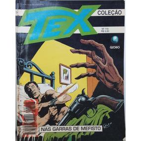 Hq Tex Coleção 119 Globo: Garras Mefisto 100pg 1996 (a) E06