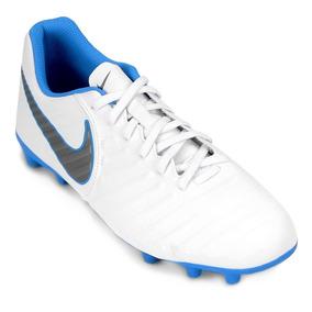 518ab7918f Branca Somente 43 Chuteira Nike Tiempo Natural Ii Fg Preta ...