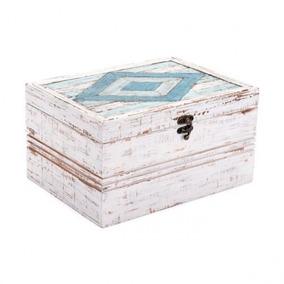 Joyero Modelo Rombo - Blanco Vintage Këssa Muebles