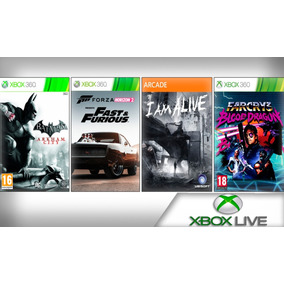 Far Cry 3 Blood Dragon, +3 Jogos Mídia Digital - Xbox 360