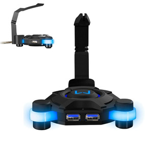 Hub Usb Gamer Warrior 4 Portas Usb 3.0 Com Bungee Ac293