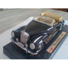 Miniatura 1/18 Maisto Mercedes Benz 300s 1955 Leia O Anúncio