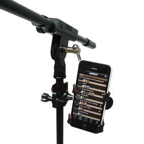 3 Suporte Celular Pedestal Microfone Toca Canta Frete Gratis
