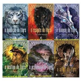 Livros Saga A Maldição Do Tigre - Colleen Houck 06 Volumes
