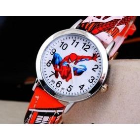 b4186cf1e59 Escudo Do Homem Aranha Vermelho - Relógios De Pulso no Mercado Livre ...