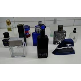 Lote 12 Frascos De Perfume Vazios Com Caixa