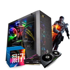 Pc Gamer Itx I7 7700k (rtx 2060) 32gb /ssd 240gb /1tb /water