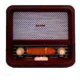 Noblex Rx100bt Radio Vintage Am/fm Bluetooth 10w Coleccion!