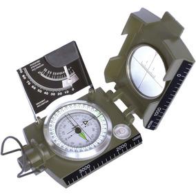 Bússola Profissional Csr Tipo Militar K-4074 Escala Métrica