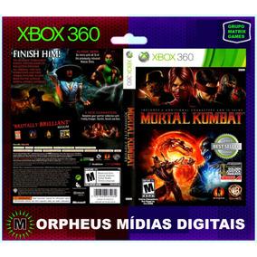 Mortal Kombat Xbox 360 Original - Mídia Digital