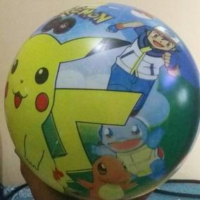 Bola De Vinil Pokemon - Brinquedos e Hobbies no Mercado Livre Brasil 6f91971853431