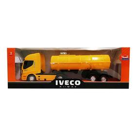 Juguete Para Niños Camion Iveco Pipa Usual Brinquedos
