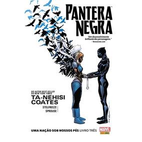 Hq Pantera Negra Uma Nação Sob Nossos Pés Livro Três Marvel
