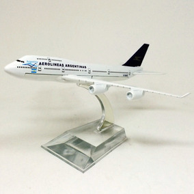 Aviao Miniatura - Boeing 747 Aerolíneas Argentinas Hb Toys