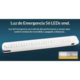 Luz De Emergencia Led 56 Leds Smd Trv Lde002