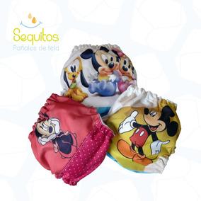 Pañales Ecológico De Mickey Y Minnie