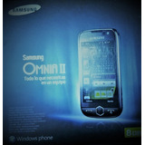 Telefono Samsung Omnia Ii Nuevo En Caja