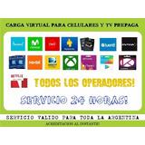 Carga Para Celulares Prepagos Y Tv Por Cable Prepago 230